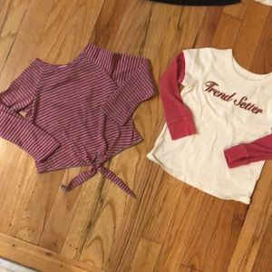 Shirts & Tops - 10 winter pieces for 2T girl